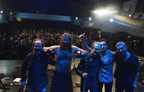 The Watch live in Genova, Italy